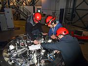 Práce na instalaci přístroje NEAR