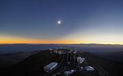 Total solformørkelse La Silla juli 2019
