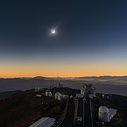 Solar Eclipse in La Silla 2019