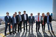 Der Präsident der Republik Chile und der Generaldirektor der ESO