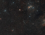 Wide-field view of the region of the sky where AFGL 5142 is located