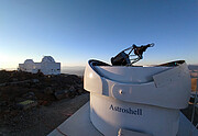The Test-Bed Telescope 2 with other La Silla telescopes in the background