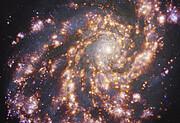Изображение NGC 4254, полученное с приёмником MUSE на VLT ESO на нескольких длинах волн