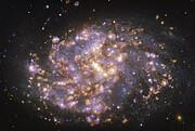 Изображение NGC 1087, полученное с приёмником MUSE на VLT ESO на нескольких длинах волн