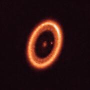 ALMA-Aufnahme des PDS 70-Systems