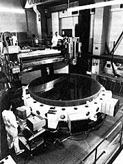 .58 meter mirror for the New Technology Telescope (NTT)