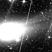 Comet Hyakutake develops two tails