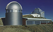 Dome of the Swiss 1.2-metre Leonhard Euler Telescope at La Silla