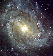 Messier 83 – central region