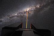 Em direção ao centro da Via Láctea