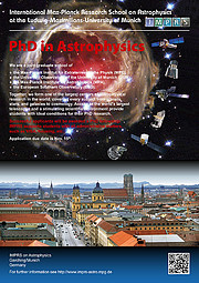 Poster: International Max Planck Research School on Astrophysics