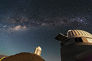 Teleskooppeja ESOn ensimmäisellä havaintopaikalla Chilessä: La Sillan observatoriolla