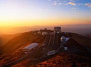 La Silla-observatoriet i marts 2003