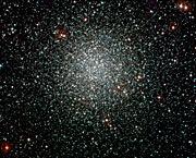 El cúmulo globular NGC 3201