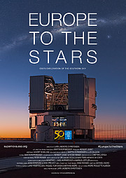 "Póster de ""Europe to the Stars"""