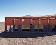 At bygge Paranal Residencia – fra turbulens til fred og ro (nutidigt billede)