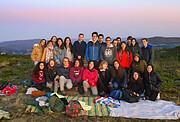 Participantes del campamento de astronomía de verano AstroCamp 2019