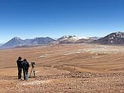 """Dreharbeiten für """"Die Augen der Atacama"""" am ALMA-Standort"""