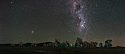 Milky Way stretches over ALMA in UHD panorama