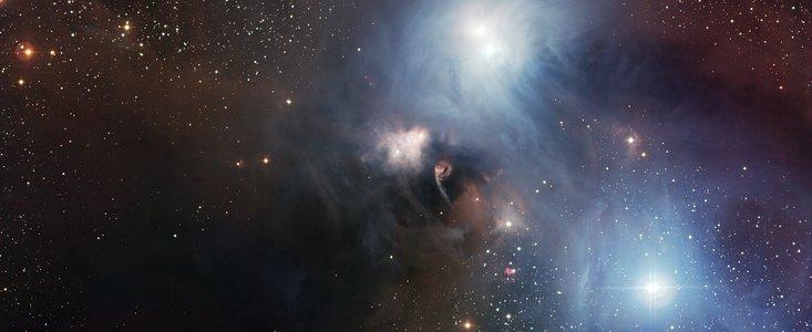 R Coronae Australis Malt Ein Kosmisches Gemälde Eso österreich
