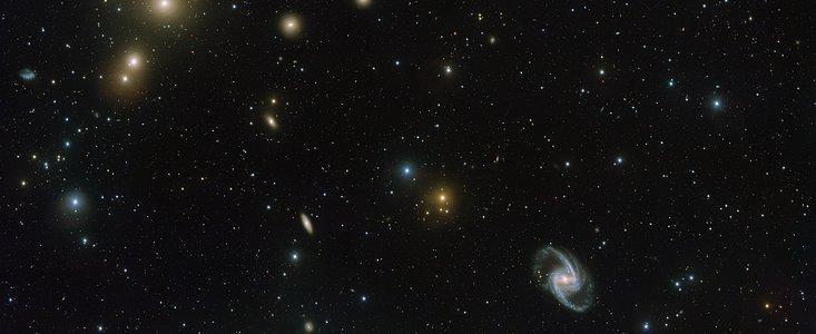 Fornax galaksehoben