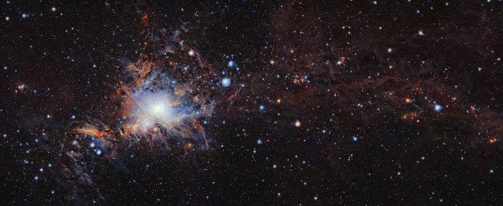 Stjernedannelser i lille nabogalakse