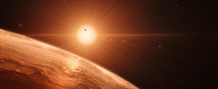 Fund af 7 Jordlignende planeter