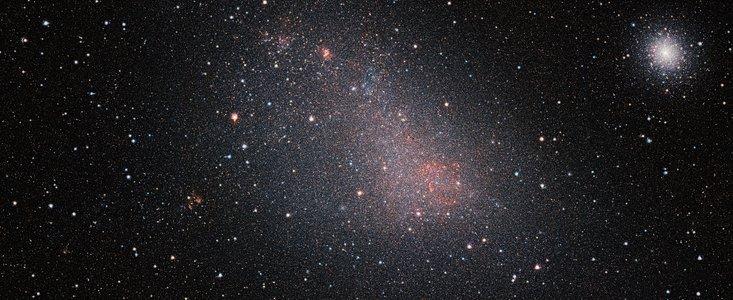Vista'sbillede af vores nabogalakse Den Lille Magellanske sky