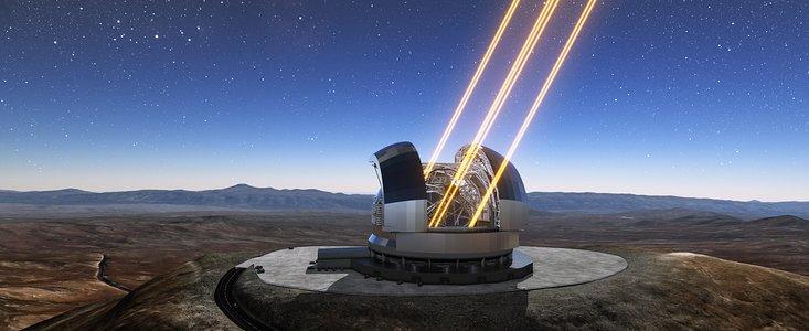 ESO 39m store ELT teleskop
