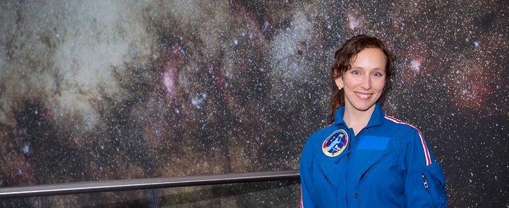 ESAs første tyske kvindelige astronaut fra ESO