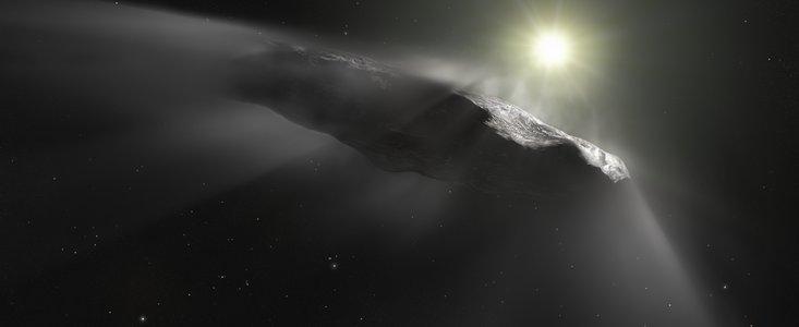 Крайне странный объект астероид Оумуамуа