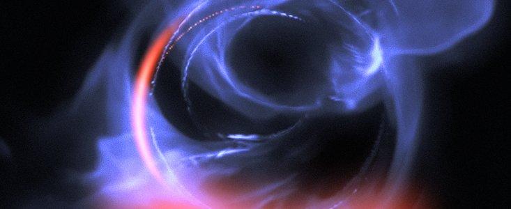 Kugler af gas om Mælkevejens centrale sorte hul