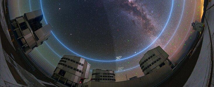 ESO's VLT''ere og himlen