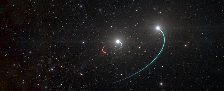 buco nero HR 6819