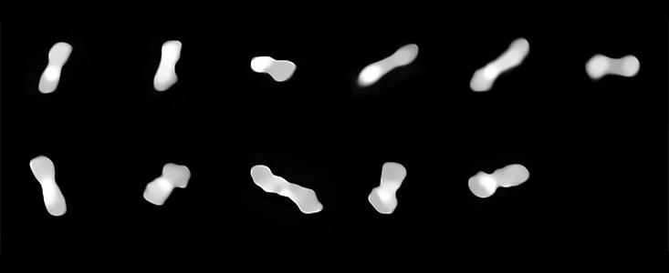 Imagem do Sphere fornece pistas sobre como o Cleópatra se parece, além das duas luas que orbitam esse asteroide