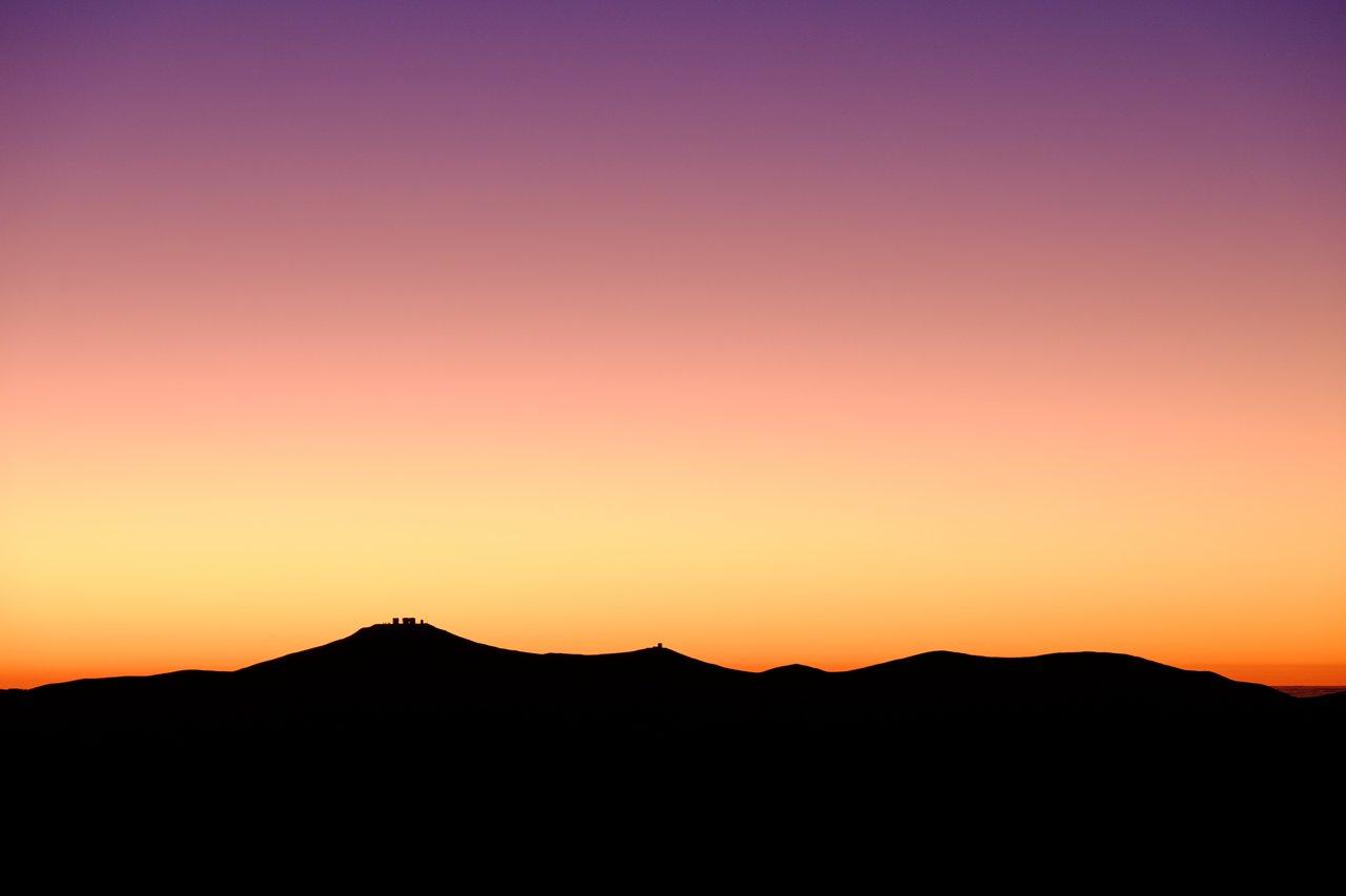 Cerro Paranal sunset