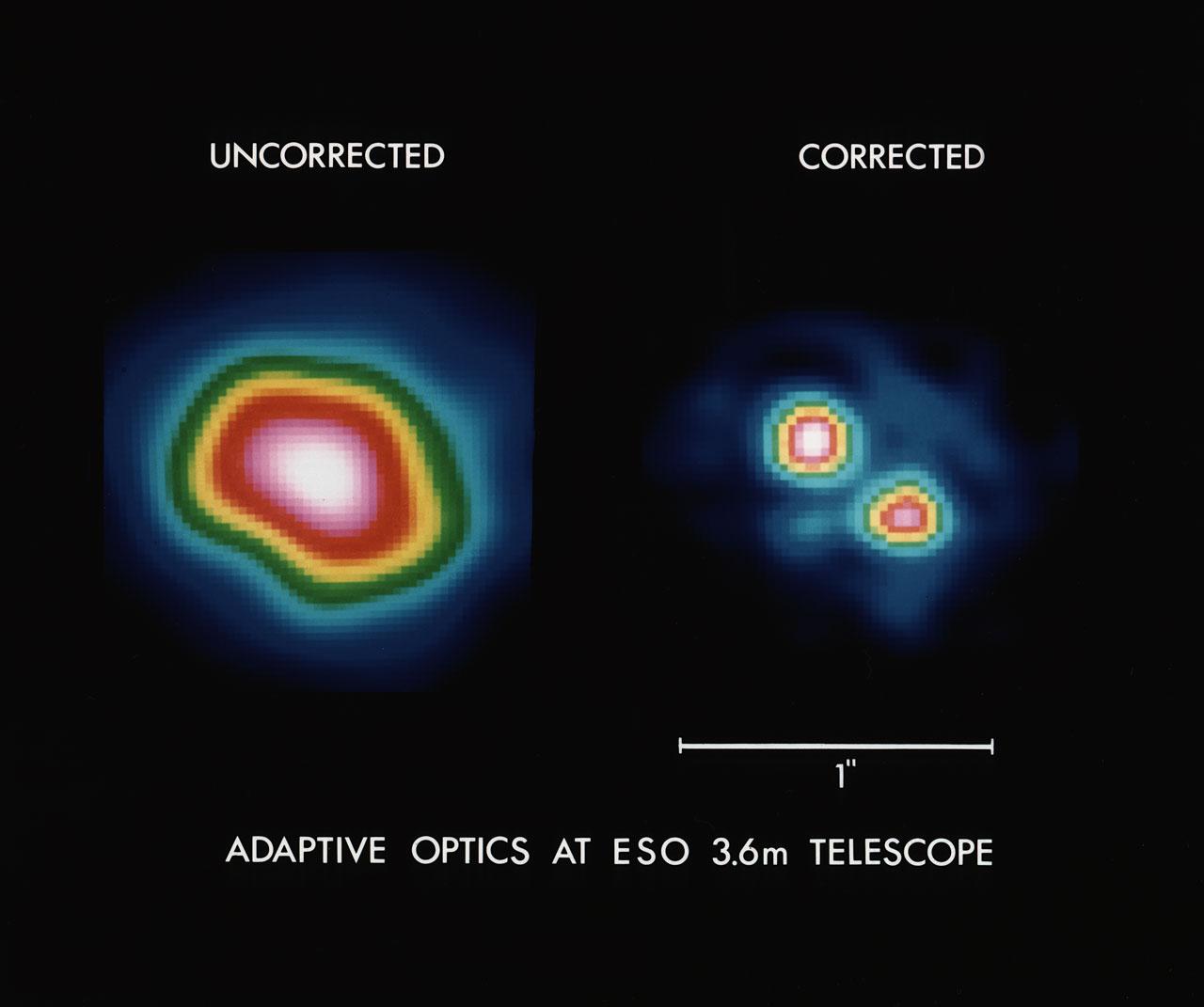 Adaptive optics at the ESO 3.6-m telescope | ESO Magyarország