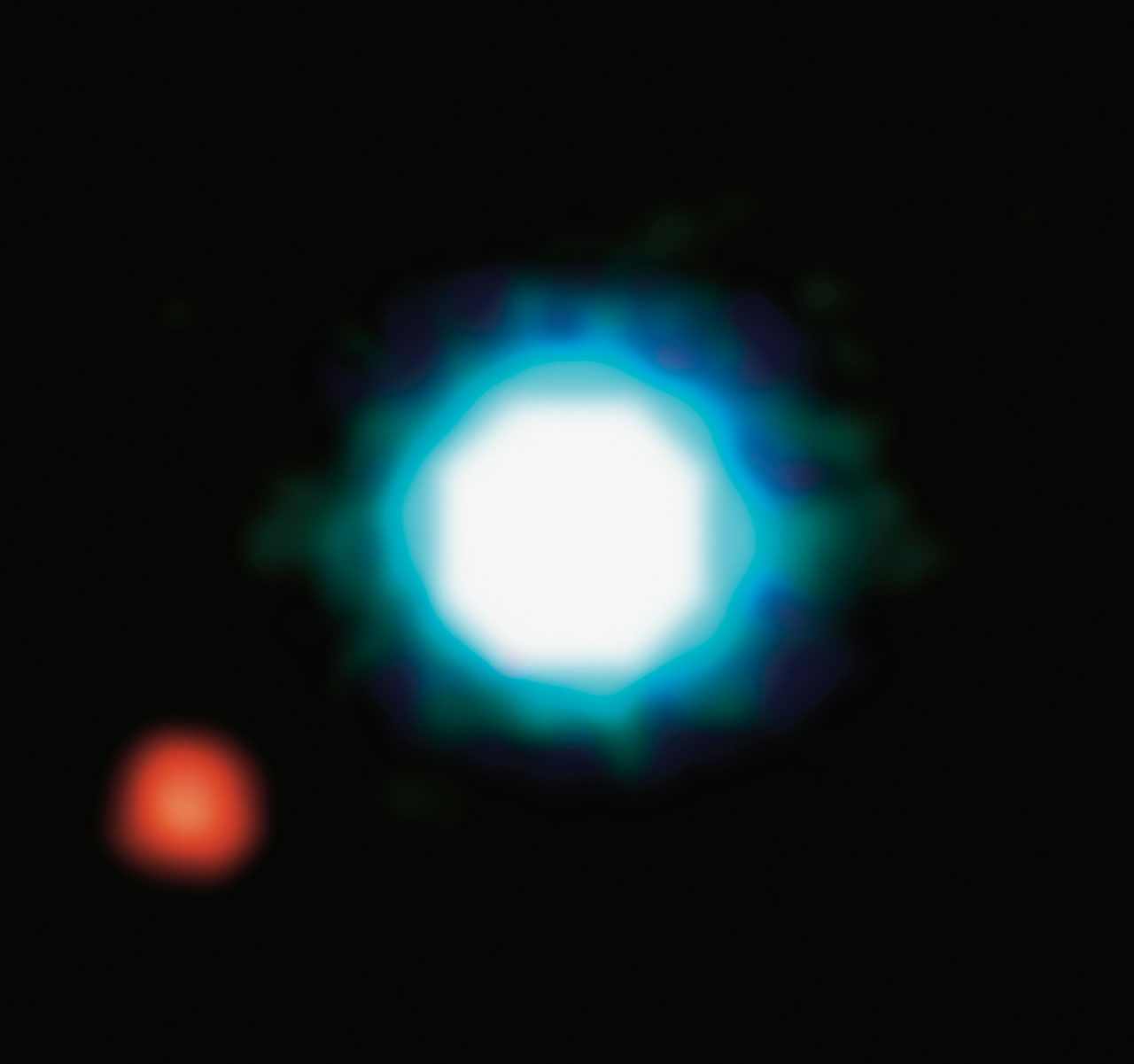 2M1207b - first image of an exoplanet