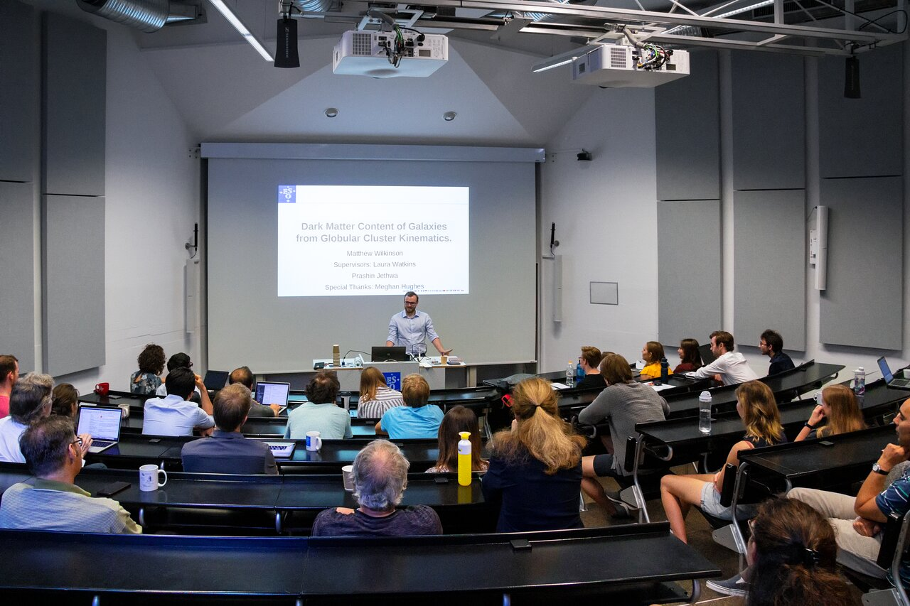 ESO Summer Research Programme — Matthew Wilkinson
