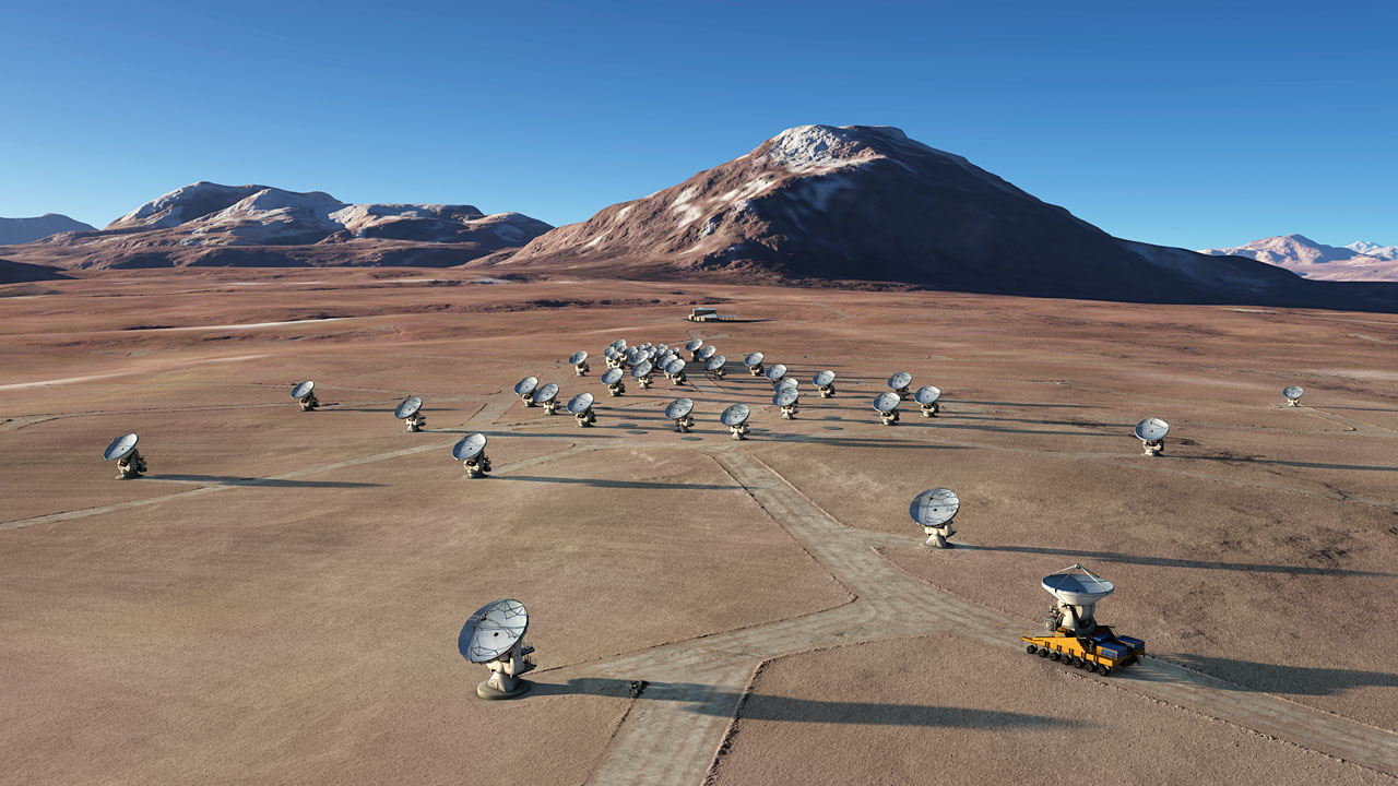 ALMA Teleskop