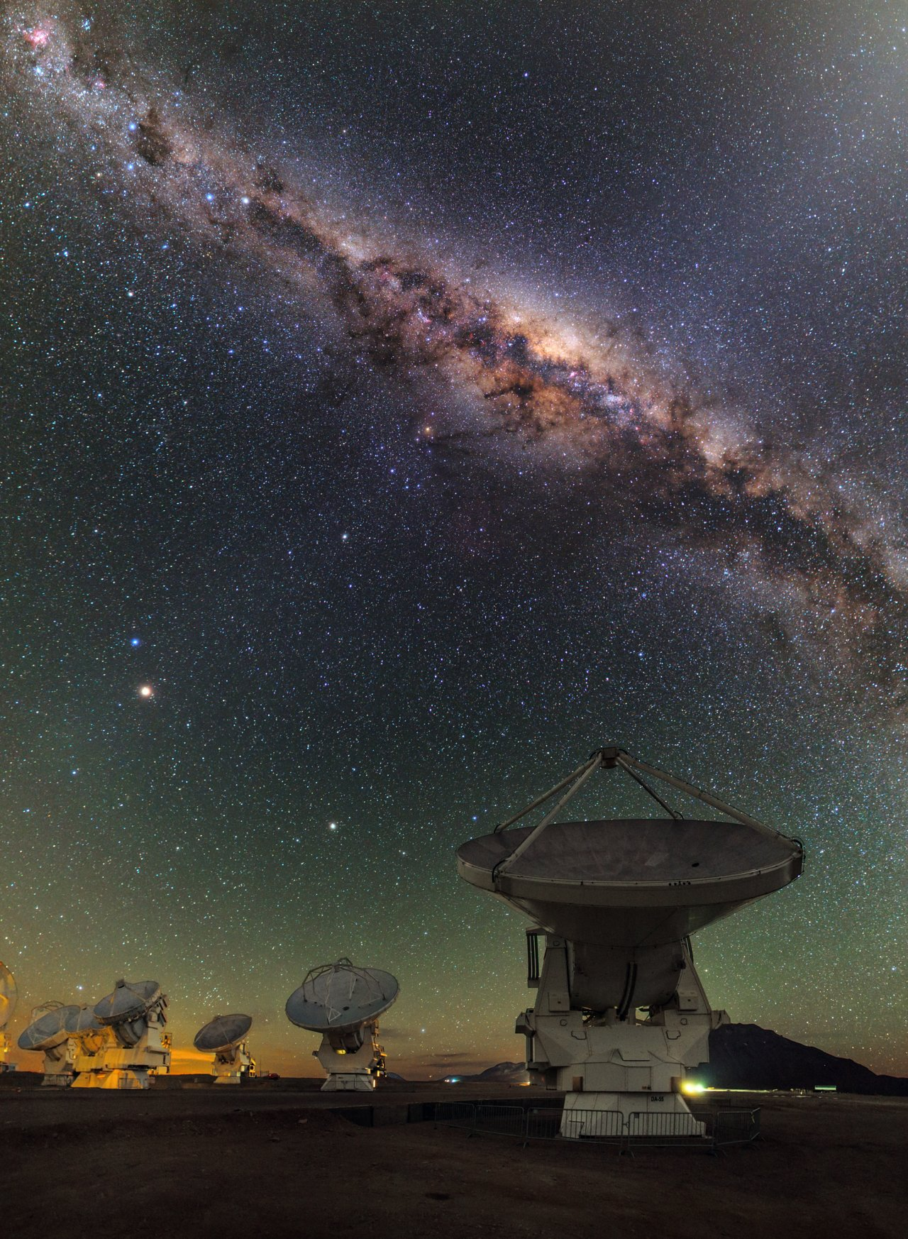 Mounted image 206: ALMA and the centre of the Milky Way