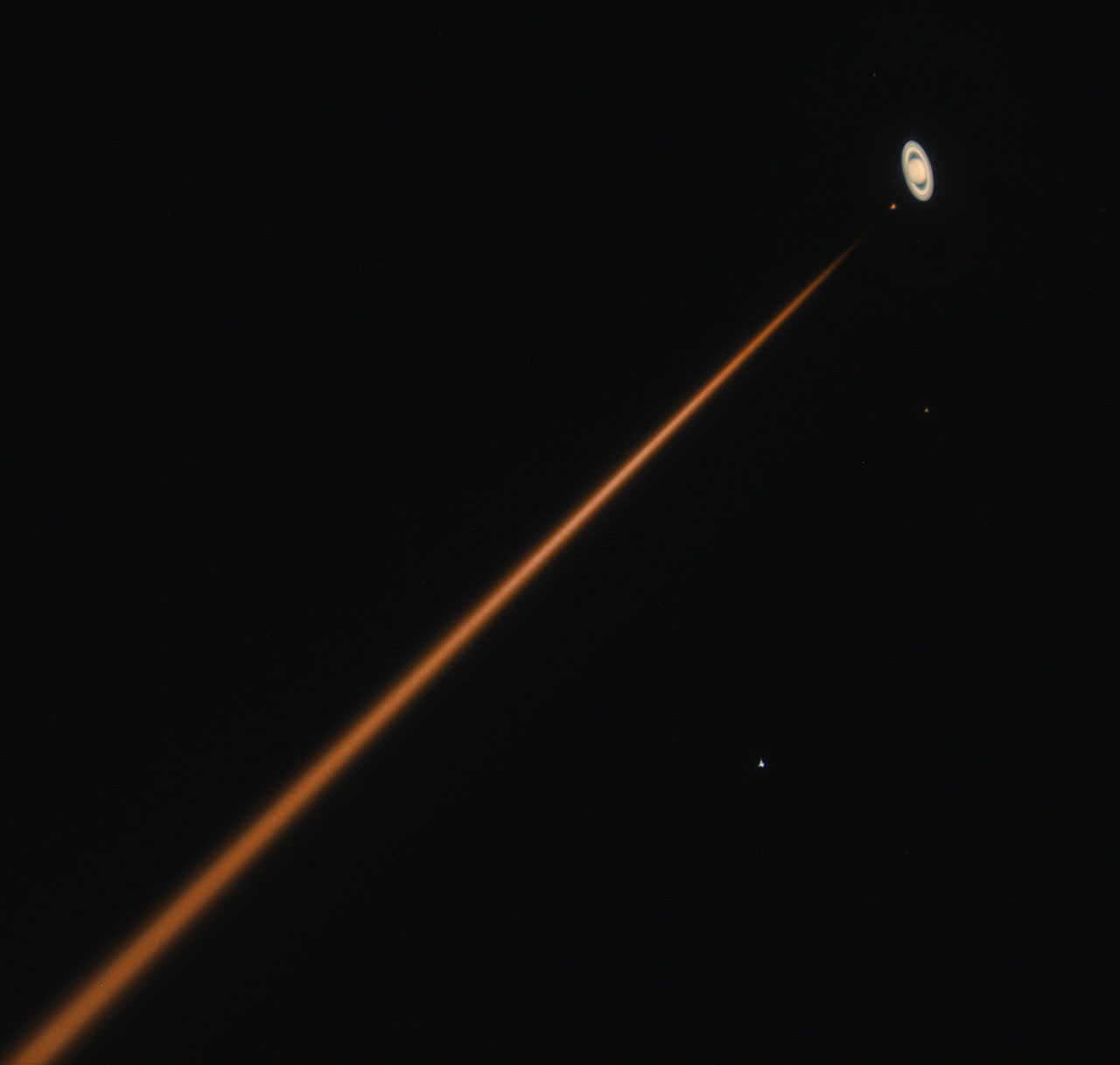 Parade Of Lasers 2015: First Light Of New Laser At Paranal