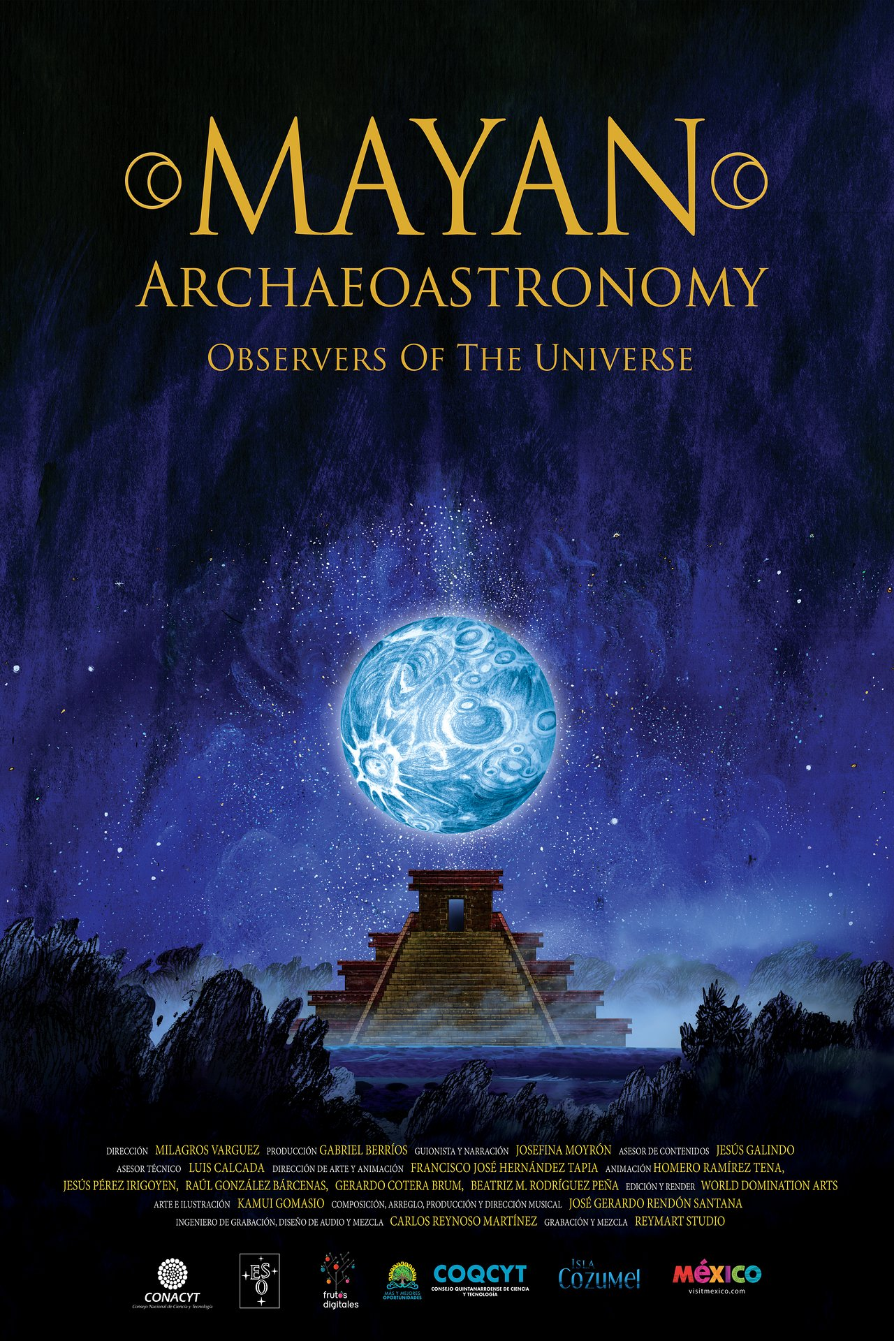 Image result for eso planetarium video mayan archaeoastronomy images