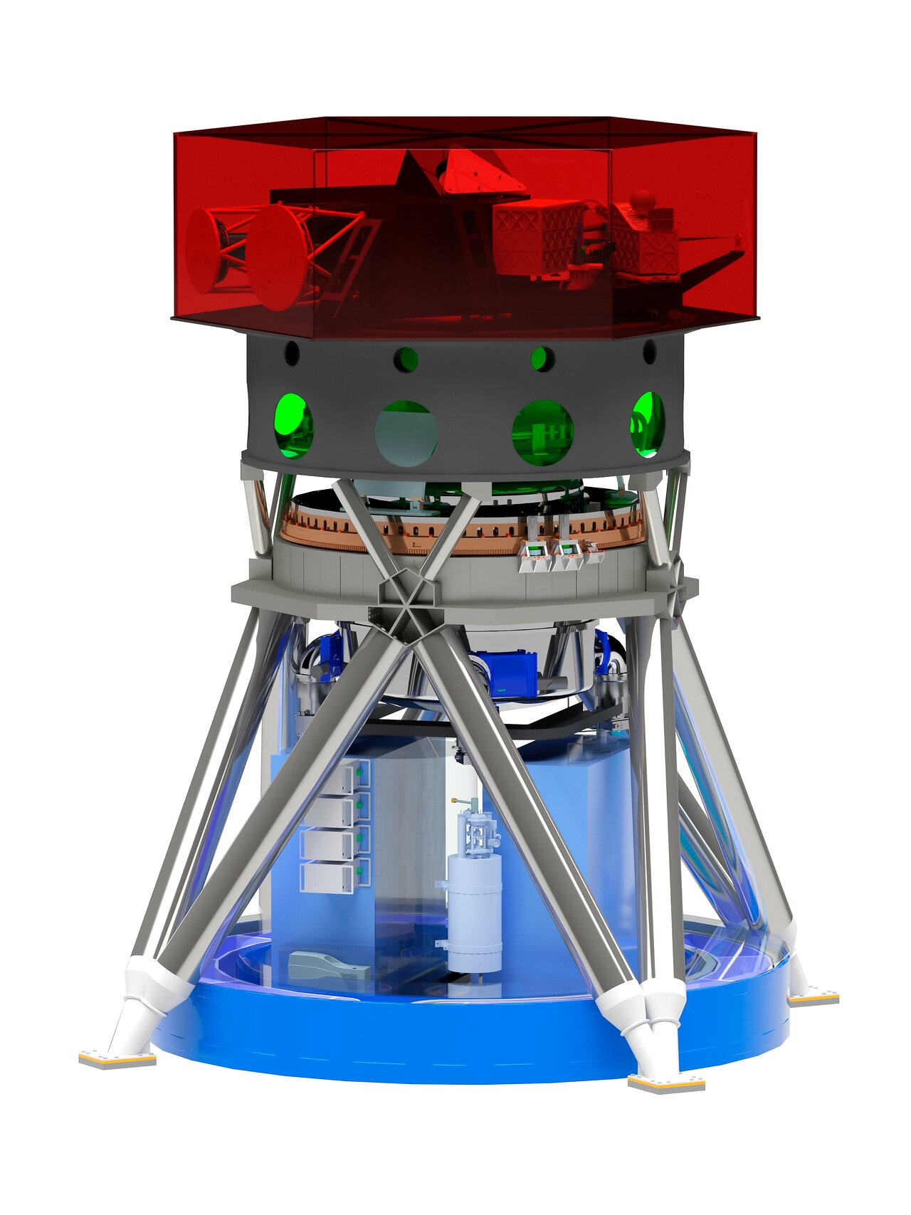 Rendering of the MICADO instrument