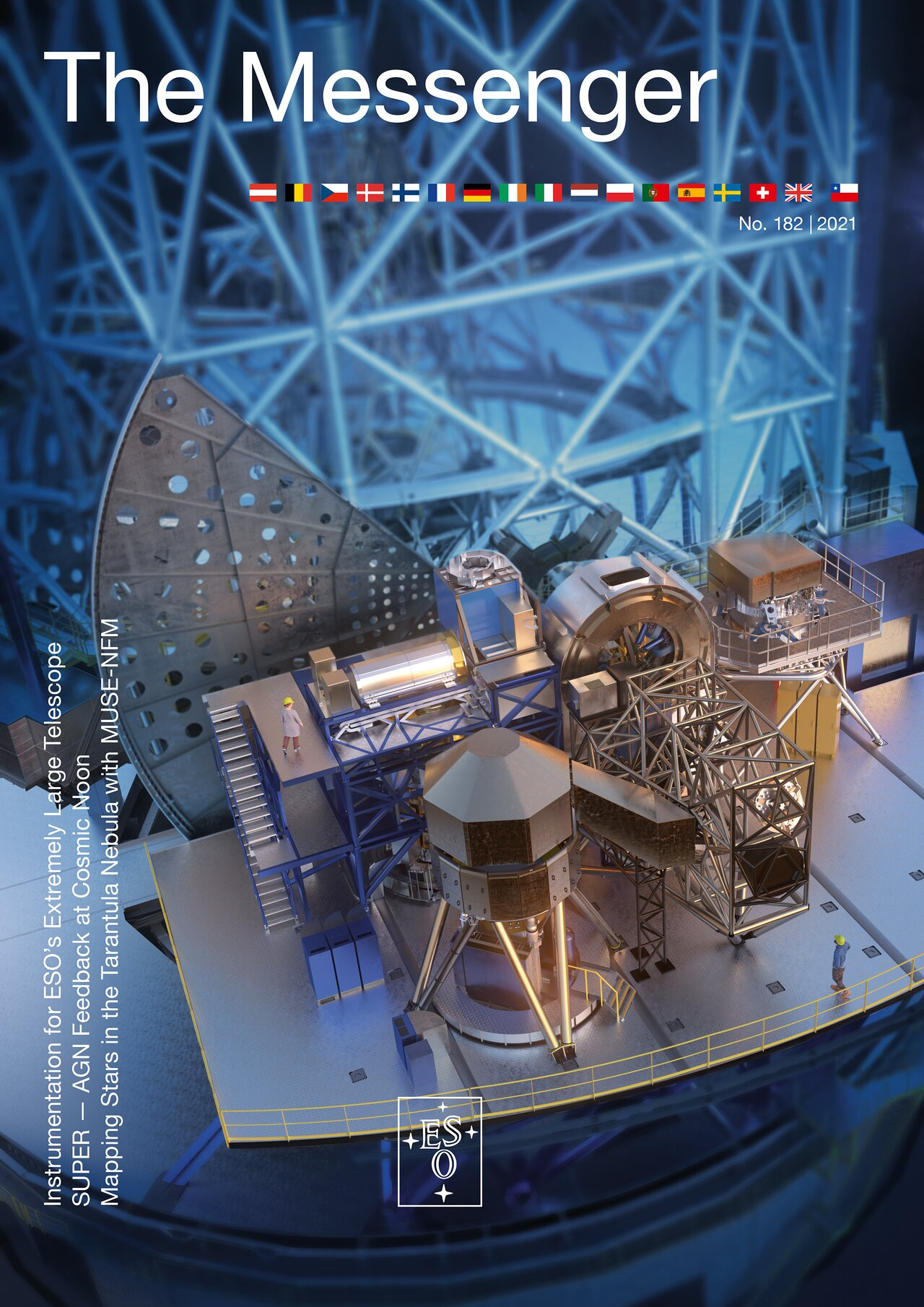 Cover of The Messenger issue 182
