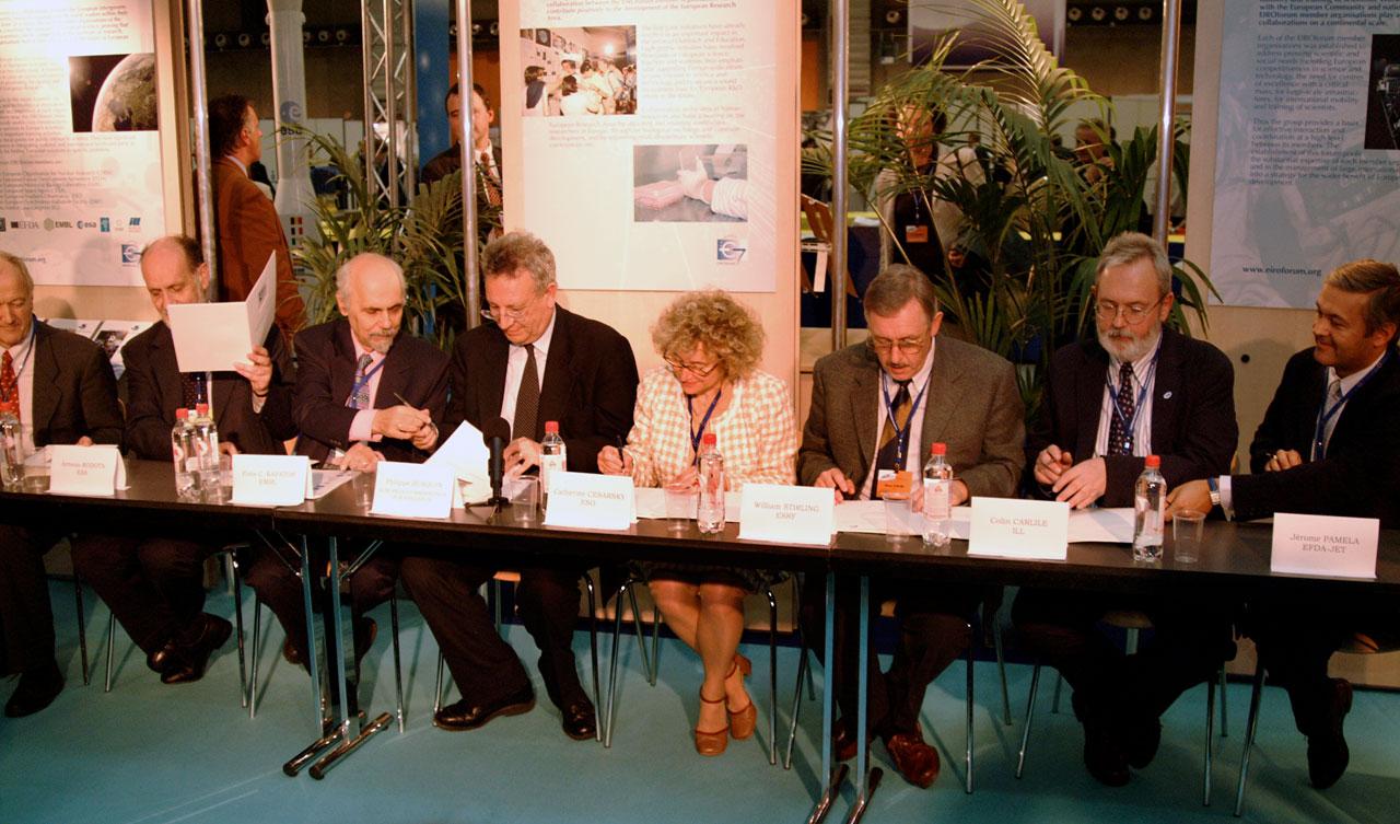 Signing of EIROforum Charter