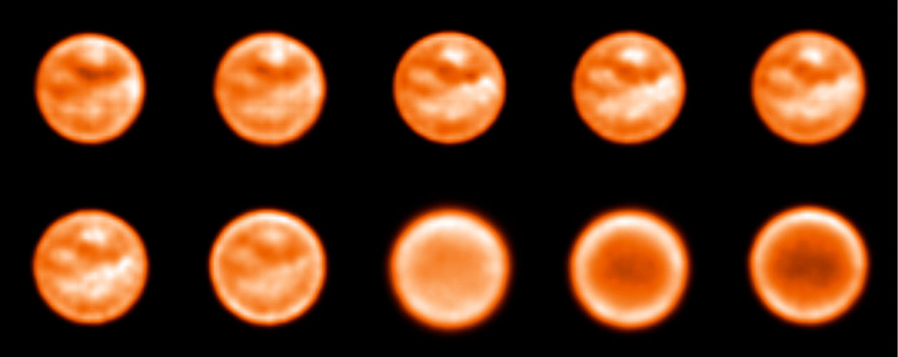 Imaging Titan with a tunable filter