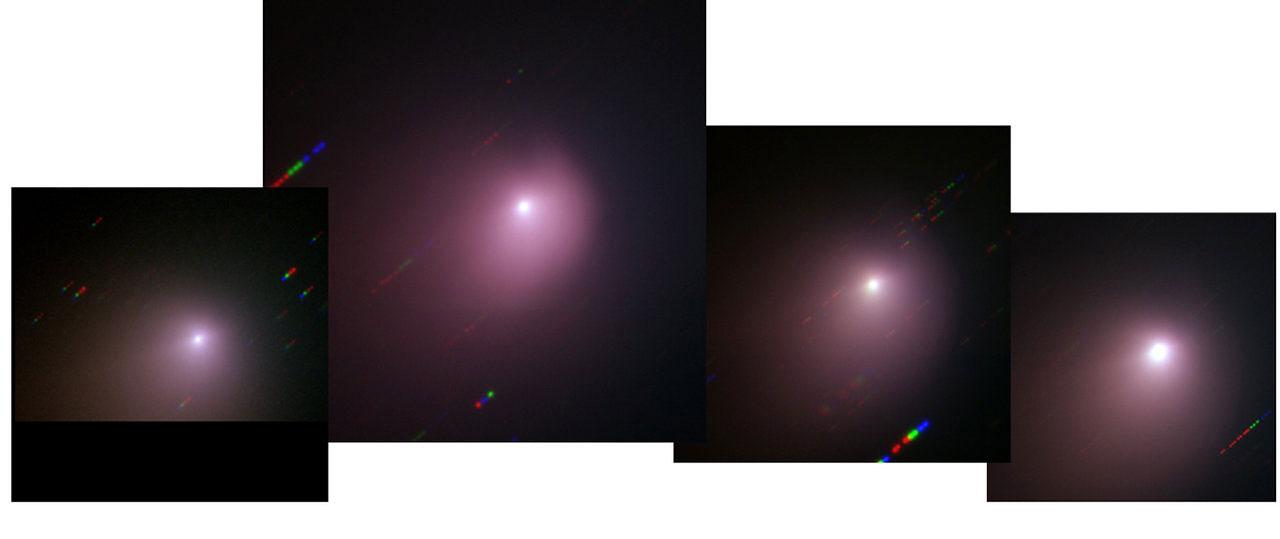 La evolución del cometa Tempel 1