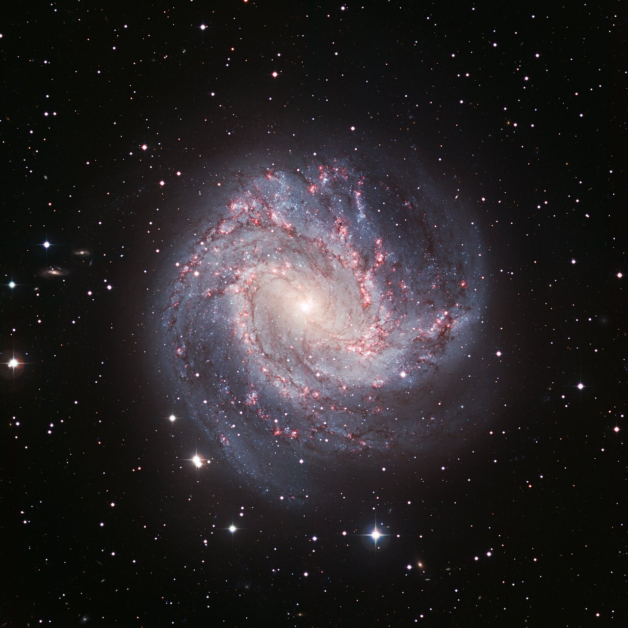 Mounted image 037: Spiral galaxy Messier 83