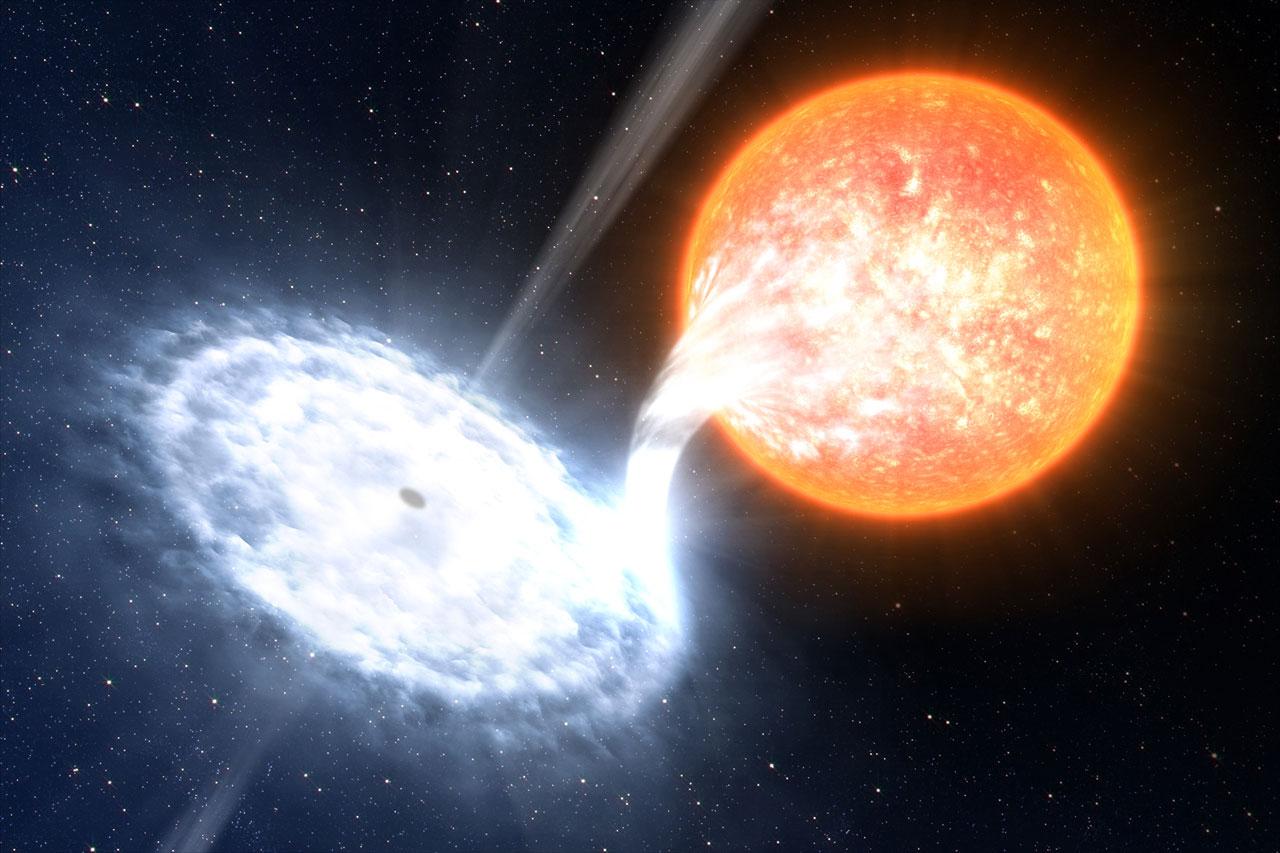 A binary black hole